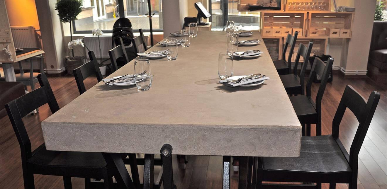 Enduit naturel argile Claystone sur table