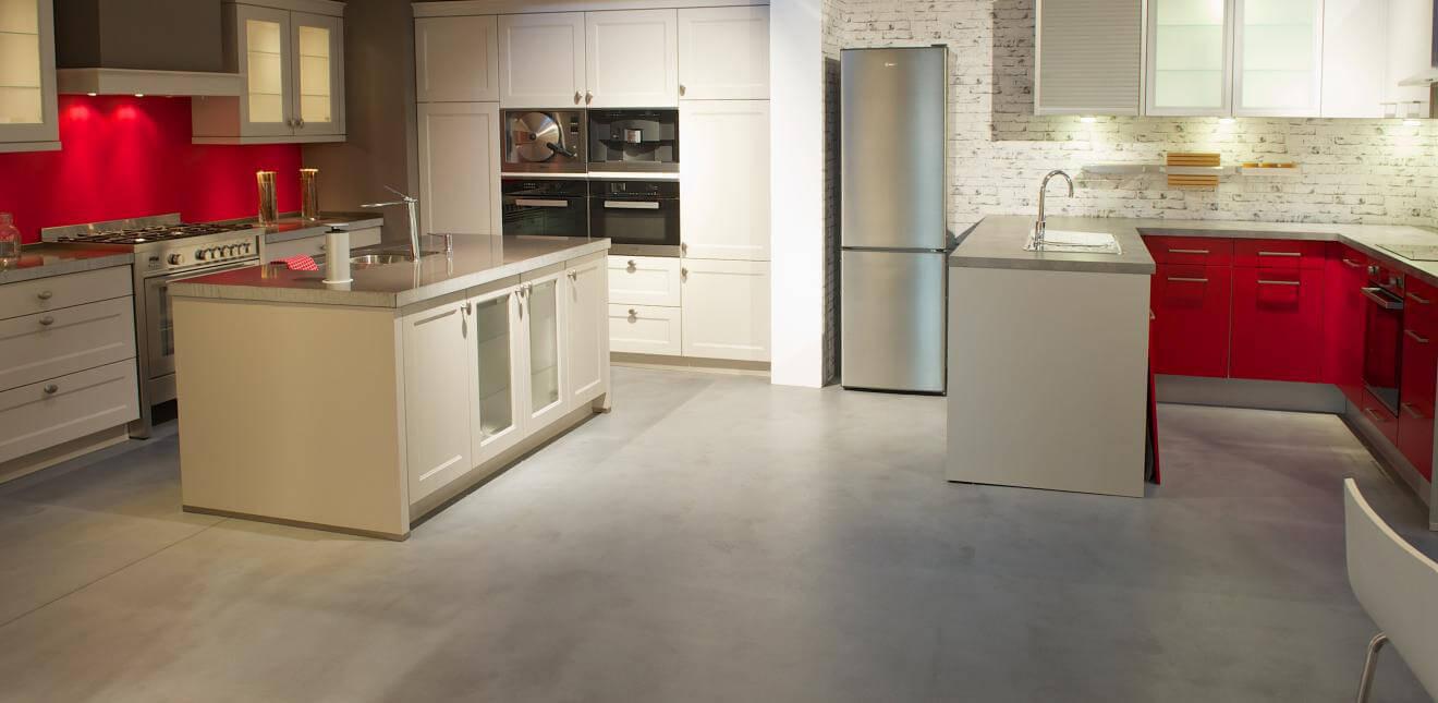 Enduits naturels claylime claystone creatina tadelaktpro - Sol cuisine beton cire ...