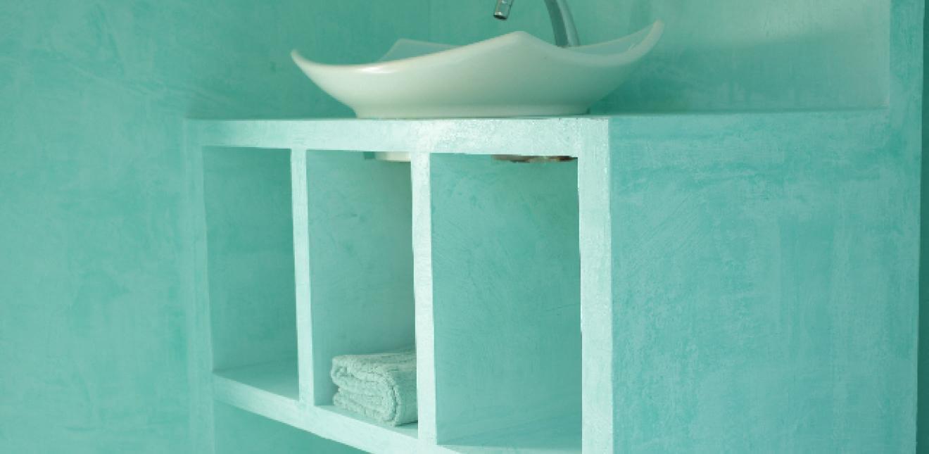 Enduit naturel Creatina : Rénovation mobilier